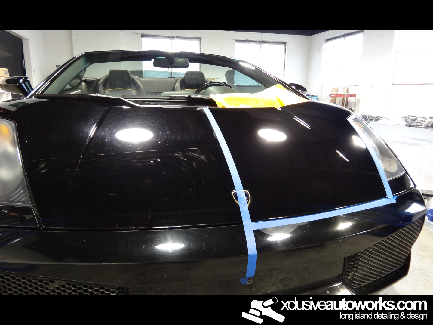 Lamborghini Gallardo Opti Coat Long Island Auto Detailing And Paint Correction