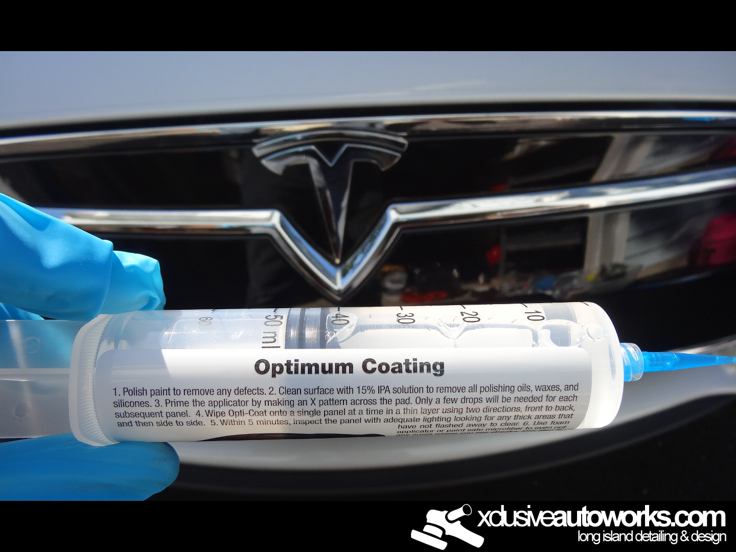 Opti Coat Pro >> Tesla Model S Opti Coat Pro Detail Long Island Auto Detailing And