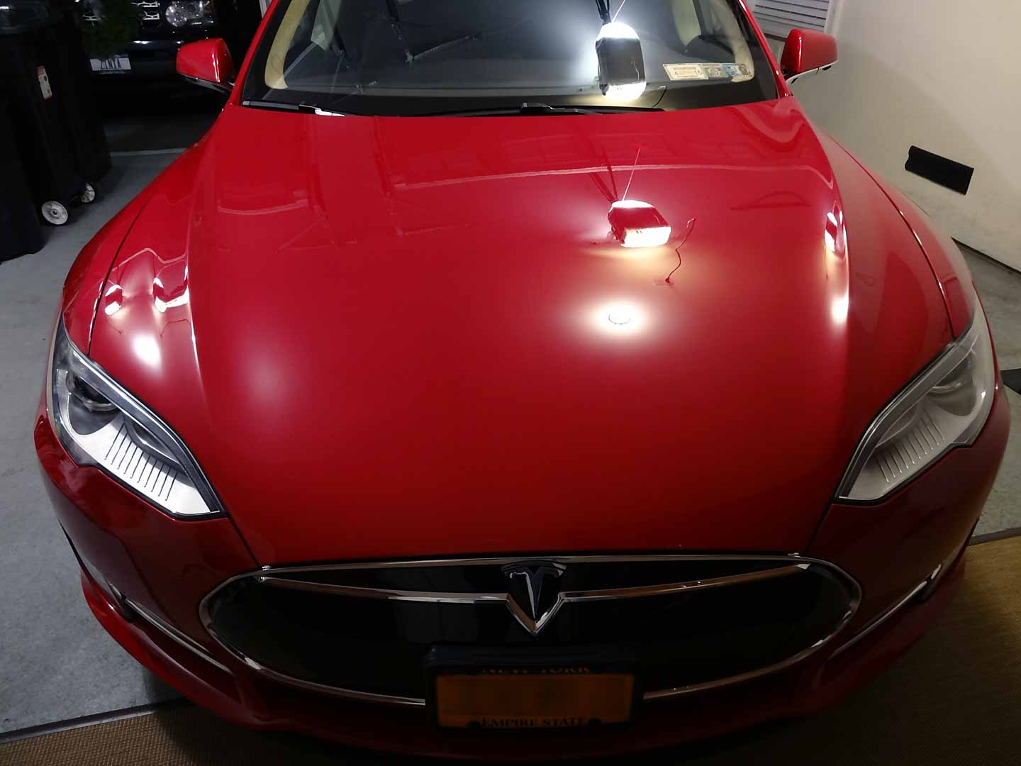 Tesla Model S Opti-Coat Detail - Long Island Auto Detailing and
