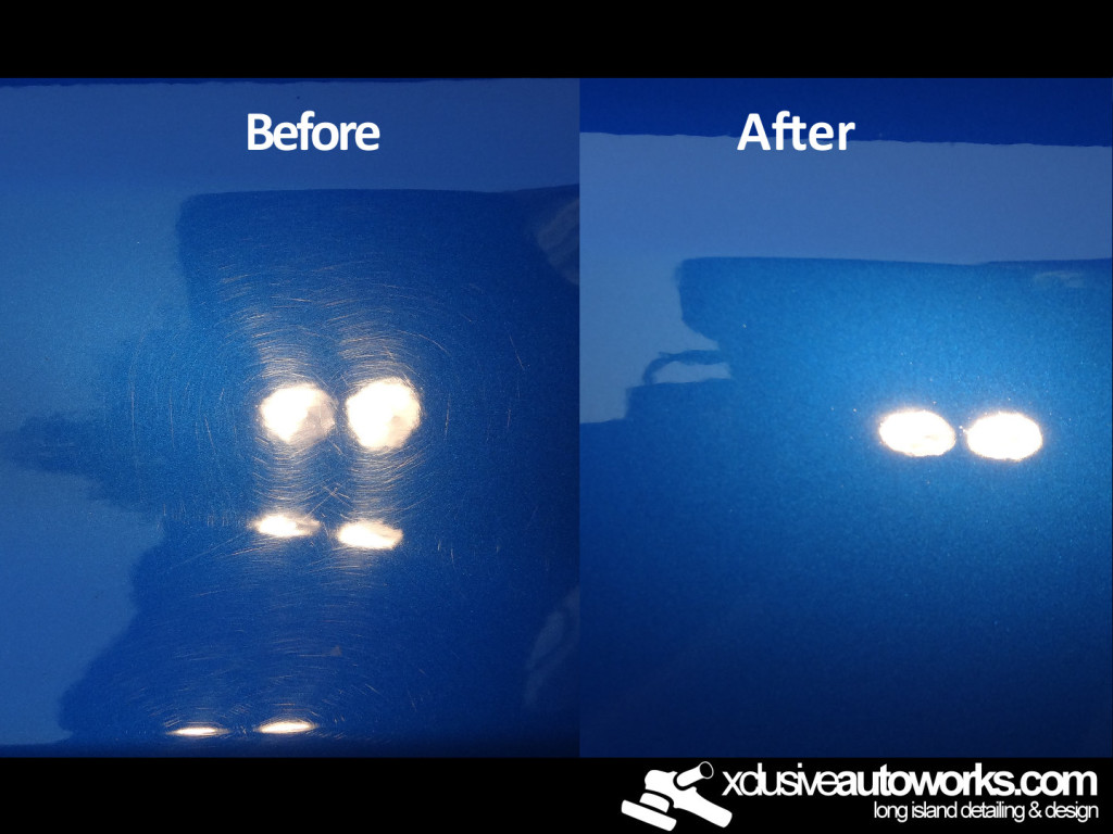 Before and after detail long island