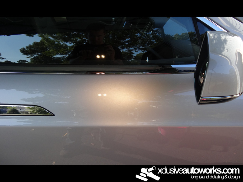 Tesla Paint Correction Long Island