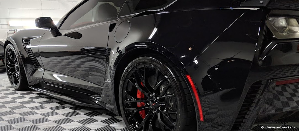 paint protection cost zr1